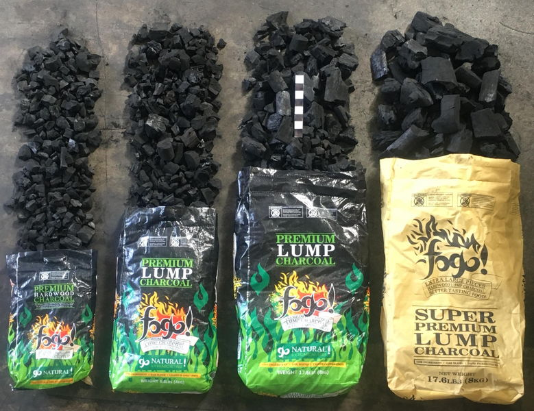 Best Lump Charcoal - Sizes