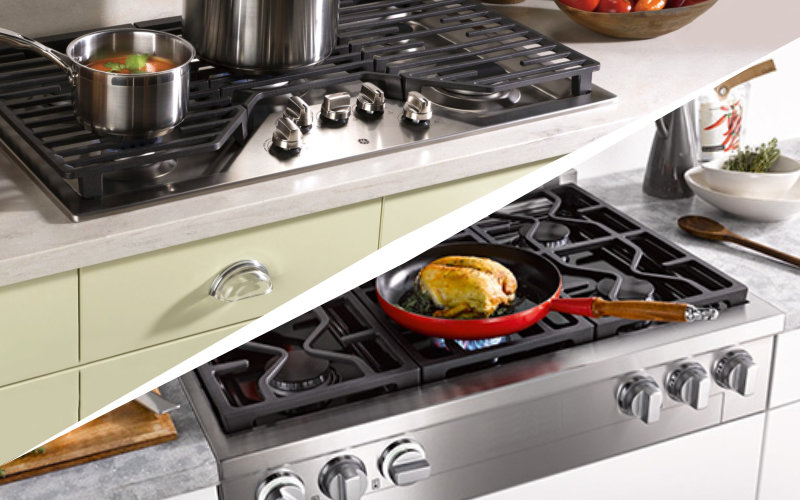 Rangetop vs Cooktop – All You Have to Know About