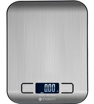 Etekcity Food Digital Kitchen Scale for Baking and Cooking