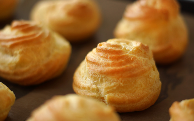 Perfect Choux Pastry – Basic Recipe for Cream Puffs and Profiteroles