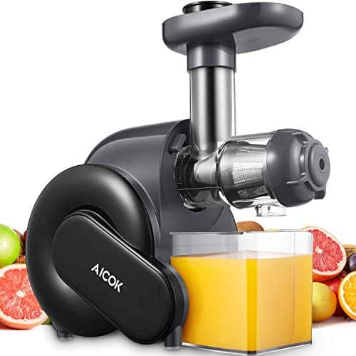 Aicok Slow Upgrade Filter Juice Machine - best multipurpose masticating juicer