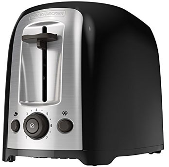 BLACK DECKER 2-Slice Extra Wide Slot Toaster - Best user-friendly toaster