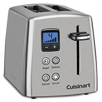 CUISINART Cpt- 415 Countdown Toaster - Best toaster for tech savvies