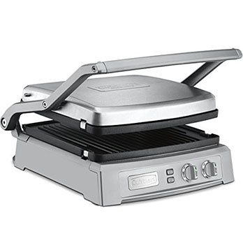 Cuisinart GR–150P1 GR–150 Griddler Deluxe - Contact grill with the best top cover