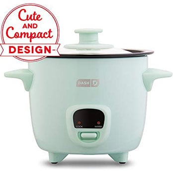 DASH Mini Rice Cooker - Most Versatile Rice Cooker for a Small Family
