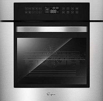 """Empava 24"""" Single Wall Oven - Best Reliable Touch Control Single Wall Oven"""