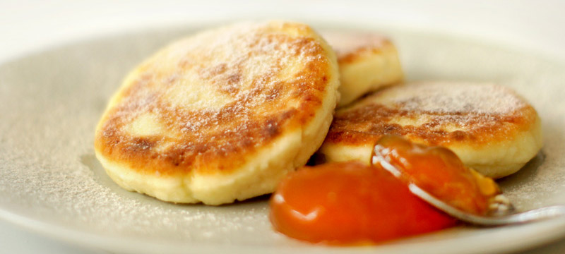 Farmer Cheese Pancakes - Quick and Healthy Breakfast Recipe
