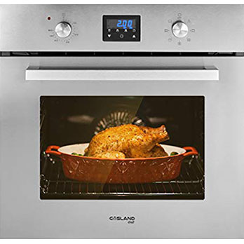 GASLAND Chef ES609DS Wall Oven - Best Single Wall Oven with digital display and manual control