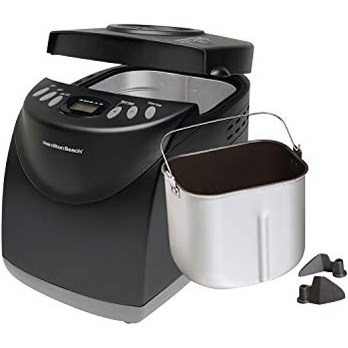 Hamilton Beach 2 Lb digital bread maker - Best affordable, quick bake bread making machine