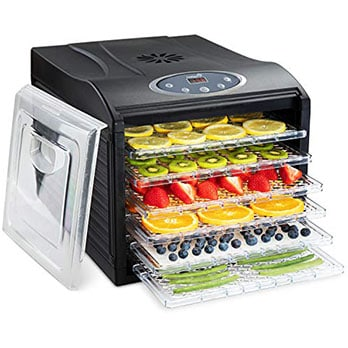Ivation Counter Trip Digital Food Dehydrator - Best food dehydrators with great design