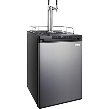 Kegco HBK309S-2 keg Dispenser - Kegerator with wide temperature range