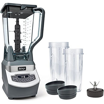 Ninja Professional Counter Blender - Best powerful and perfect for frozen drinks and smoothies