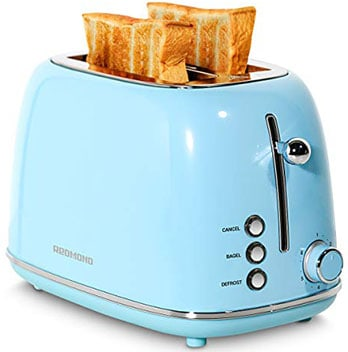 Redmond 2 Slice Toaster - Best compact toaster with an elegant design