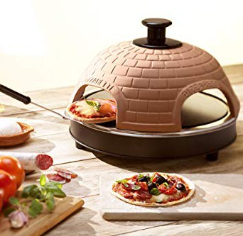 TableTop chefs Countertop Pizza Oven - Best countertop oven with decorative feature