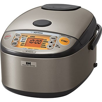 Zojirushi NP-HCC10XH Heating System Rice Cooker - Best High-end Rice Cooker